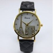 Ceas de dama Geneva Paris black