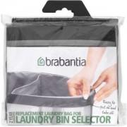 Brabantia International B.V. Brabantia Ersatz Wäschesack, grau, Wäschekorb-Sack als praktischer Ersatz, Fassungsvermögen: 55 Liter -Selector-