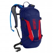 Camelbak Mule Hydration Backpack 12 Litres - Pitch Blue/Racing Red