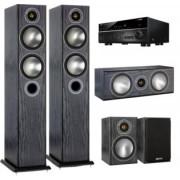 Pachete PROMO SURROUND - Monitor Audio - Bronze 5 pachet 5.0 + Yamaha RX-V683 White Ash