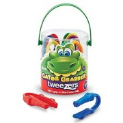 Learning Resources Gator Grabber Tweezers Set Of 12