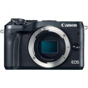 Canon Camara digital reflex canon eos m6 body (solo cuerpo) cmos/ 24.2mp/ digic 7/ full hd/ wifi/ nfc/ bluetooth/ negro