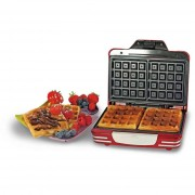 Ariete 187 Waffle Maker Party Time Macchina Per Waffles Piastra Antiaderente Col