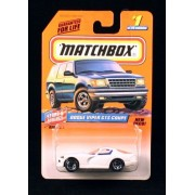 DODGE VIPER GTS COUPE * WHITE * Stars & Stripes Series 1 MATCHBOX 1998 Basic Die-Cast Vehicle (#1 of