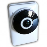 Mini cam IP WiFi con visione 180 gradi