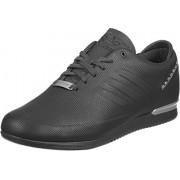 adidas Originals Men's Porsche Typ64 Sport Utiblk/Utiblk/Msilve Leather Sneakers - 10 UK/India (44.67 EU)
