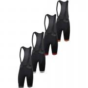Sportful BodyFit Team Classic Bib Shorts - M - Black/Red
