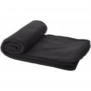 Geen Fleece deken zwart 150 x 120 cm