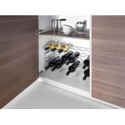 Metaltex | Tomado Wijnrek SOAVE stapelbaar'6 flessen per etage'