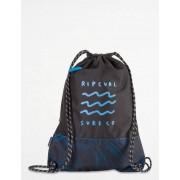 Rip Curl, DRAWCORD GLOW WAVE BAG, Blå, Väskor/Necessärer till Unisex, One size