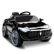 Rigo Maserati Kids Ride On Car - Black
