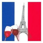 Geen Franse feestartikelen servetten