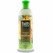 Balsam de par cu ananas si lime, pt. par normal sau gras, Faith in Nature, 400 ml