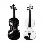 Fabuloso Violin 4/4 Con Finos Y Hermosos Diseños Hechos A Mano
