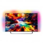 Televizor Philips LED Smart TV Ambilight 55 PUS7303/12 139cm Ultra HD 4K Grey