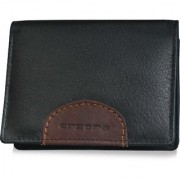 arpera-Safari Genuine Leather Card Holder Black C11534-1
