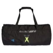adidas Sporttas Duffel Icon X - Zwart/Geel