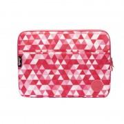 "Smile Pink Geometric Bolsa para Portátil 13"""