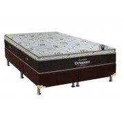 Conjunto Box-ColchãoOrtobom Sleep King+Cama - King 186
