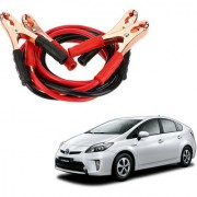 Auto Addict Premium Quality Car 500 Amp Heavy Duty Copper Core Tangle Battery Booster Cable 7.5 Ft For Toyota Prius