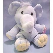 Precious Moments Tender Tails Bean Bag Plush Blue Elephant Stuffed Animal