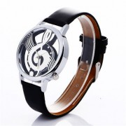 Navira Casual Formal Musical Note Painting for Music Lovers Unisex Watches Asias Hot Selling Model Free Shipping