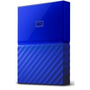 WD vanjski tvrdi disk My Passport 4 TB, plavi (WDBYFT0040BBL-WESN)