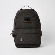Superdry Mens Superdry dark Grey backpack (One Size)