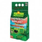 Amestec seminte gazon, turba si ingrasamant 3 in 1 Floria, 1 kg