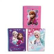Disney Frozen Spiral Notebook 3-pack(3 Designs)
