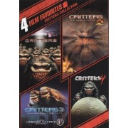 Critters Collection: 4 Film Favorites [2 Discs] [DVD]