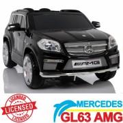 Mercedes GL63 Licencirani auto na akumulator za decu crni (SL 628 crni)