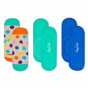 Sosete HAPPY SOCKS unisex 3-PACK BIG DOT LINER SOCK