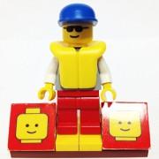 MinifigurePacks: Lego City/Town Bundle (1) COASTGUARD - RESCUER (1) FIGURE DISPLAY BASE (1) FIGURE ACCESSORY