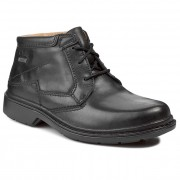 Обувки CLARKS - Rockie Hi Gtx GORE-TEX 203186037 Black Waterproof
