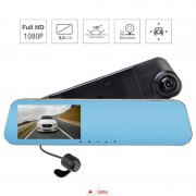 Camera Auto Oglinda Offroad Full HD SM510 + Car Triple
