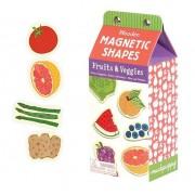 Mudpuppy Nauka przez zabawę Zestaw drewnianych magnesów Owoce i warzywa 35 elementów MP33499