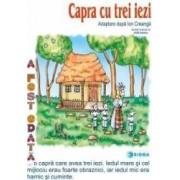 Capra cu trei iezi - Carte uriasa - Adaptare dupa Ion Creanga
