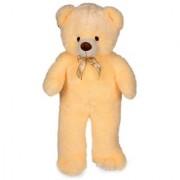 stuffed toy 3 feet soft and cute teddy bear - Cream