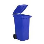 Socepi Bidone raccolta differenziata rifiuti in PEHD da 240 litri colore blu