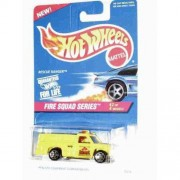 Hot Wheels Fire Squad Series Rescue Ranger (Yellow) Collector Car Replica #2 Of 4 Models In Series Collector #425 5 Spoke Wheel Hubs
