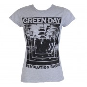 tricou stil metal femei Green Day - POWER SHOT - PLASTIC HEAD - PH10259G