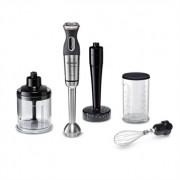 Mixeur plongeant métal pied inox MaxoMixx 750 W et 4 accessoires MSM87165 Bosch