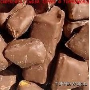 Chocolate Coated Honeycomb Cinder Toffee