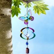 Fluture cu clopotel de vant si morisca