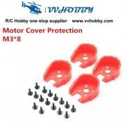Generic KINGKONG Universal Motor Cover Protection for 22 Series Motors M3*8 for FPV rc racing quad aircraft