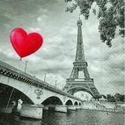 Geen Servetjes met de Eiffeltoren 20x