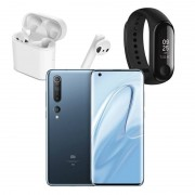 Xiaomi Mi 10 8GB/128GB 6,67'' Cinzento + Mi Band 3 + Mi True Wireless Earphones 2