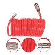 FURTUN AER SPIRALAT CU CUPLE RAPIDE 8X12MM / 15M Profi Tools