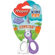 Maped Child Safe Scissors - Maped scissors with fibreglass blades & rounded ends that won't cut skin, hair or clothes. 12cm long.